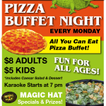 Pizza Buffet Night