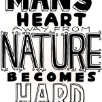 Man's Heart Away From Nature